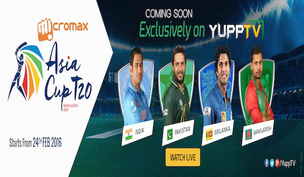 YuppTV-bags-the-exclusive-digital-media-rights-for-the-Asia-Cup-2016