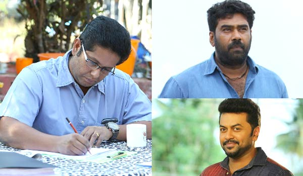 Jeethu-Joseph-writing-story-for-Biju-Menon-and-Indirajith