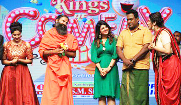 Baba-Ramdev-in-Tamil-Comedy-Program