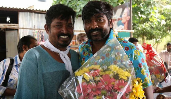 vijaysethupathi-celebrated-birthday-in-Karuppan-shooting