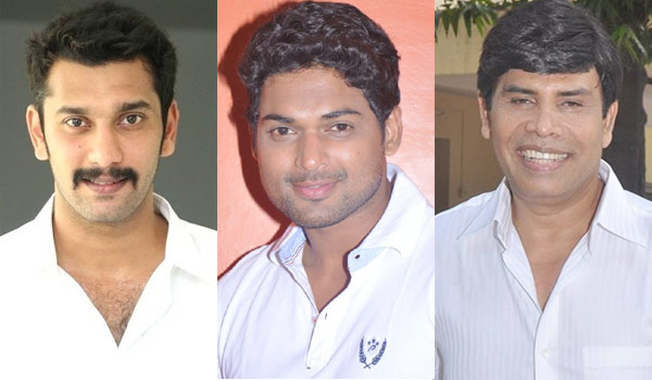 Anandraj,-Ajmal-joints-in-Arulnidhi-films