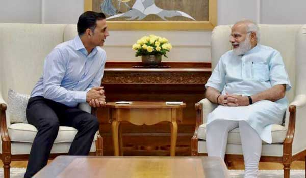 2.-Villion-Akshaykumar-meets-PM-Modi