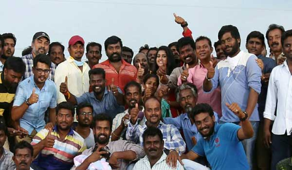 Vijay-Sethupathy-starring-Karuppan-shooting-completed
