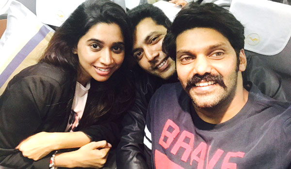 Arya---Jayam-ravi-fly-to-Cannes