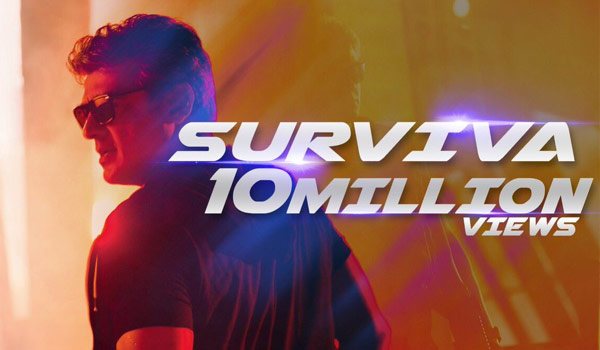 Surviva-got-10-million-views