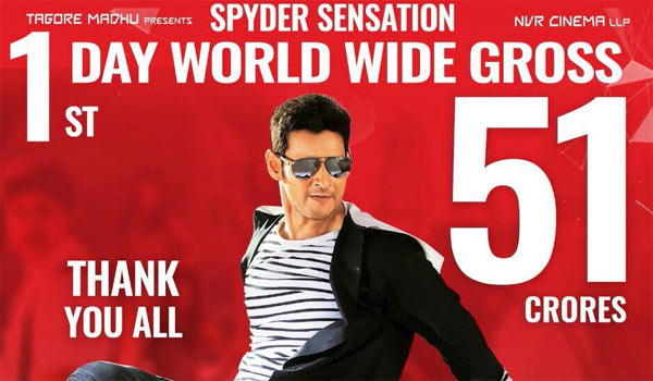 Spyder-first-day-collection-Rs.51-crore-:-Rajini-also-congrats