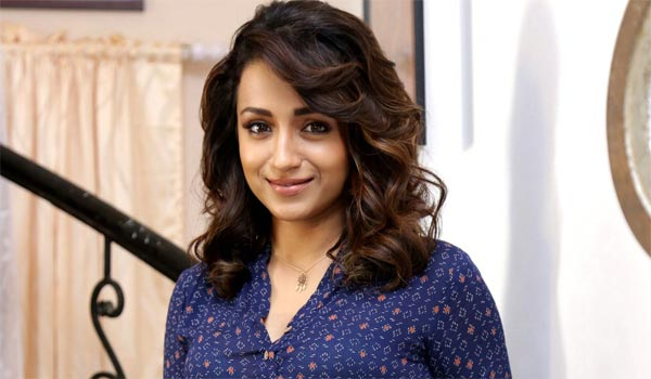 Trisha-again-acting-in-Dr.,-role