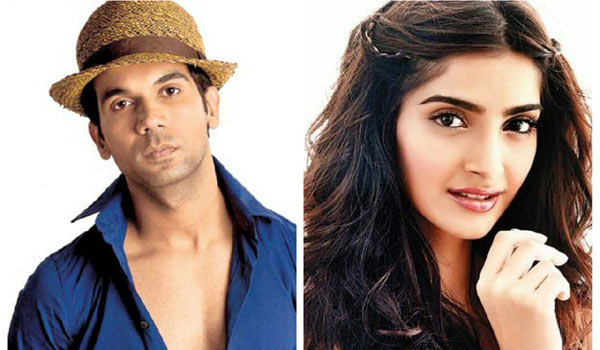 Actor-Rajkumar-Rao-to-romance-with-Sonam-Kapoor