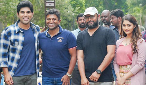 Puneet-Rajkumar-surprise-Allu-Sirish