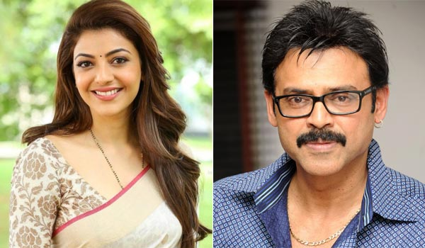 Kajal-agarwal-to-pair-with-Vengatesh