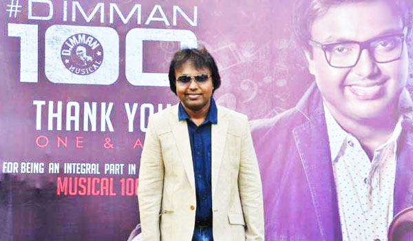 Imman-introduce-125-singers-in-his-100-films