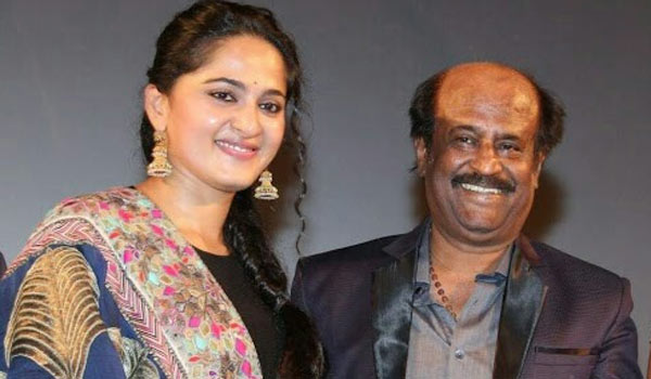 Anushka-surprise-Rajini