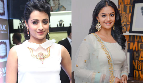 Mif-betweern-Trisha---Keerthy-suresh