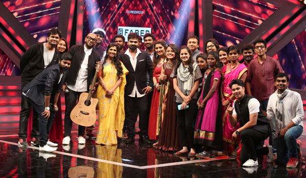 Simbu-in-Airtel-Super-Singer-Program