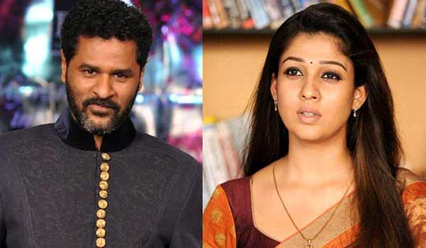 did-nayanthara-to-act-in-prabhu-deva-film