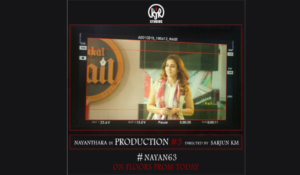 Nayanthara---Sarjun-movie-begins