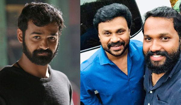 Dileep-visits-to-Pranav-Mohanlal-shooting-spot