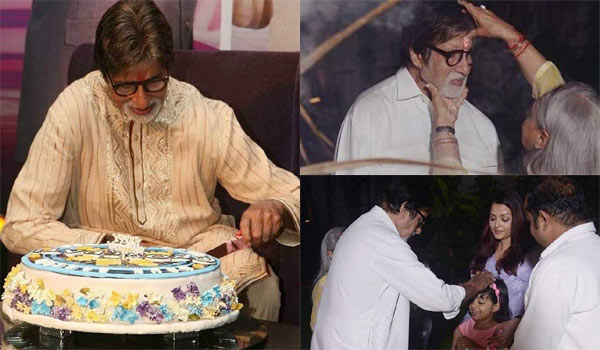 Amitabh-Bachchan-celebrate-birthday-with-family