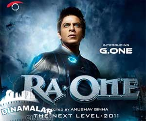 Sharuk khan`s Ra One