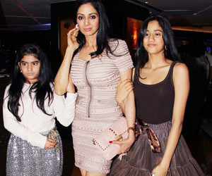 I dont want my daughters as actors : Sridevi