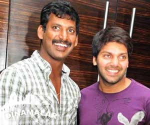 Arya-Vishal in Agni natchathiram Re-make