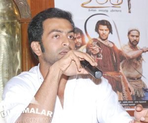 Prithiviraj thanks to tamil fans