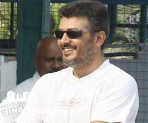 Ajith reducing his weight for upcoming film