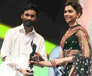 59th Filmfare Awards : Dhanush, Anjali, vikram, shruthihassan got award