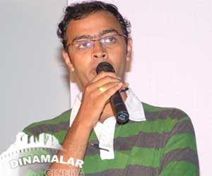 Niranjan Bharathi wrote song for Paagan