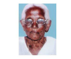 Goundamani Mother dead