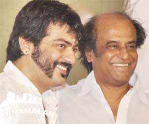Ajith to particpate in rajinis kochadaiyaan audio release function