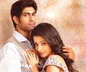Trisha warned by rana family?