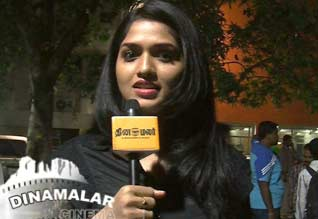 Sunaina told abour her working experience in neerparavai
