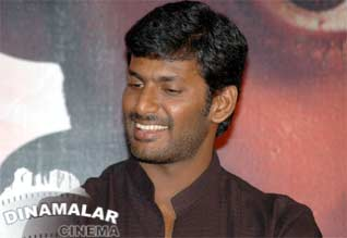 Vishal at samar press meet