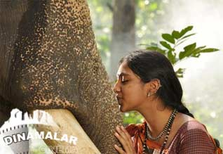 Lakshmi menon memorised of kumki elephant