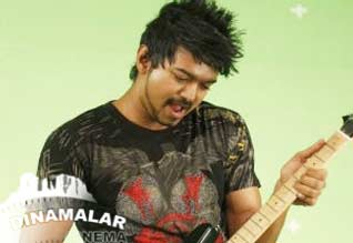 Vijay sings 25th song