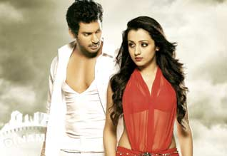 Vishals dream come true with trisha
