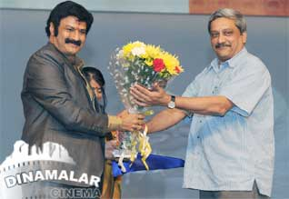 Actor Balakrishna at goa film festival