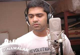 Simbu sings for telugu movie