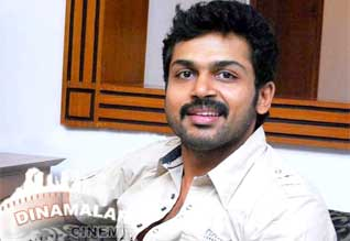 Dinamalar website reader in the actor Karthi responded to questions!