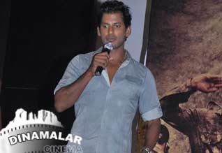 Someone against samar film says Vishal