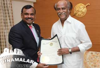 USA Maryland Deputy Secretary Meeting with Superstar Rajini