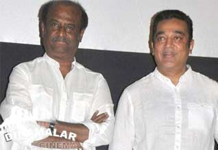 Rajini speaks kamal with telephone