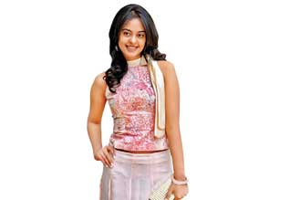 Bindu Madhavi in the role of the village