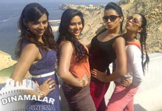 Trisha goes to muskat for rum shooting
