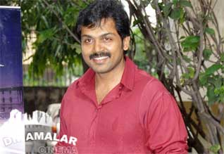 Karthi in six pack