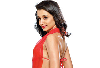 Trisha not participate in shooting