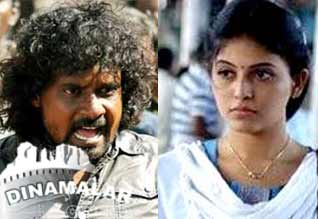 Anjali intimidating Director  Kalanjiam!