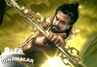 Rajini fighting with deadly animals in Kochadaiyaan