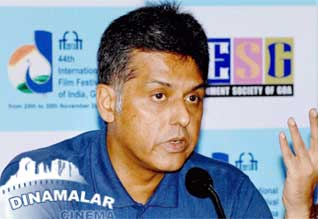 Manish Tewari in Goa Film Festival